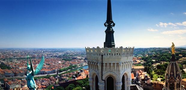 Ville de Lyon en Rhône-Alpes